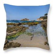 Aliso Creek Beach I I Throw Pillow