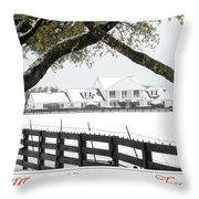 Southfork Christmas Throw Pillow