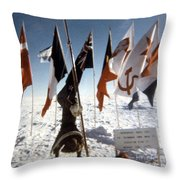 Southpole-antarctica-photos-2 Throw Pillow