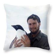 Southpole-antarctica-photos-3 Throw Pillow