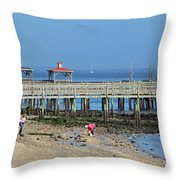 Southport Nc Throw Pillow