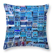 Southside Pittsburgh Throw Pillow