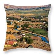 Southslope Emmett Valley Throw Pillow by Robert Bales