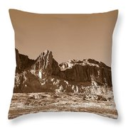 Southwest In Sepia  Throw Pillow