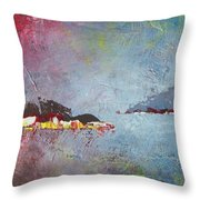 Souvenir De Vacances #36 - Memory Of A Vacation #36 Throw Pillow