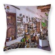 Souvenir Shop Throw Pillow
