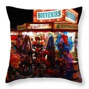 Souvenirs And Fair Gifts Throw Pillow
