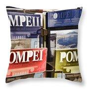Souvenirs Of Pompei Throw Pillow