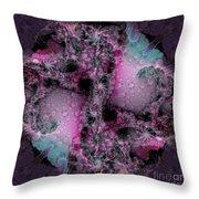 Space Snowball Throw Pillow