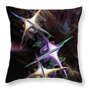 Space Station Alpha Throw Pillow