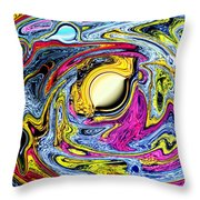 Space The Final Frontier Throw Pillow by Tom Nettles