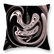 Space Time Continuum Throw Pillow