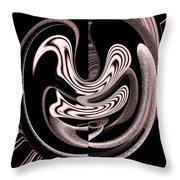 Space Time Continuum Throw Pillow by Georgeta  Blanaru