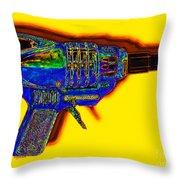 Spacegun 20130115v2 Throw Pillow