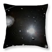 Spacescape  Throw Pillow