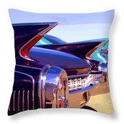 Spaceships Palm Springs Throw Pillow