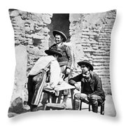 Spain Cowboys, C1875 Throw Pillow