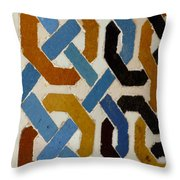 Spain Wall Throw Pillow