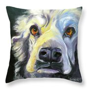 Spaniel In Thought Throw Pillow