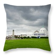 Spanish City At Whitley Bay Throw Pillow