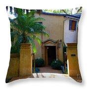 Spanish Entrance Throw Pillow