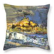 Spanish Harbour 03 Throw Pillow