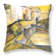 Spanish Harbour 05 Throw Pillow