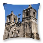 Spanish Mission Trail Throw Pillow