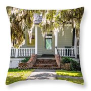 Spanish Moss Throw Pillow