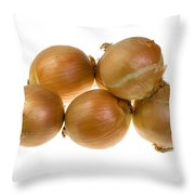 Spanish Onions Throw Pillow