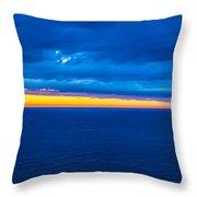 Spanish Sea Throw Pillow