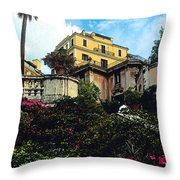 Spanish Steps In Rome Throw Pillow
