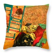 Spanish Tradition Throw Pillow
