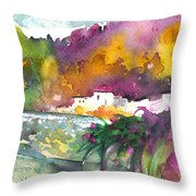 Spanish Village By The River 02 Throw Pillow