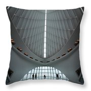 Spanning Interior Spine Throw Pillow