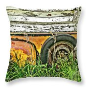Spared Throw Pillow