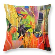 Spark Of Passion Throw Pillow
