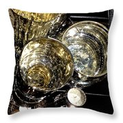 My Cups Runneth Over Throw Pillow