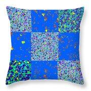 Sparkle Mandala Akaash Cosmos Pattern Bluecross Blue Cross Novino Signature   Art  Navinjoshi Artist Throw Pillow