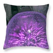 Sparkle Sphere Throw Pillow