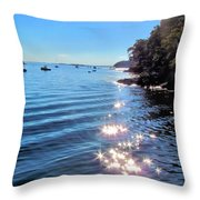 Sparkles And Twinkles Throw Pillow