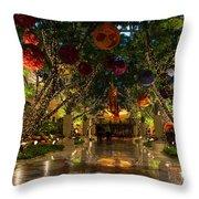 Sparkling Merry Exuberant Decorations Throw Pillow