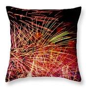 Sparkling Night Throw Pillow