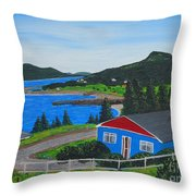 Sparrows Point - Ship Harbour N L Throw Pillow