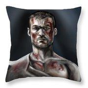 Spartacus Champion Of Capua Throw Pillow
