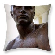 Spartan Youth Throw Pillow