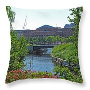Spaulding Rehab From North Point Park Throw Pillow