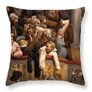 Spectacle Gratis, Avant Scene Throw Pillow