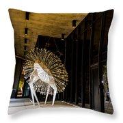 Spectacular Plumage Throw Pillow