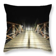 Specter Of The Brocken Throw Pillow